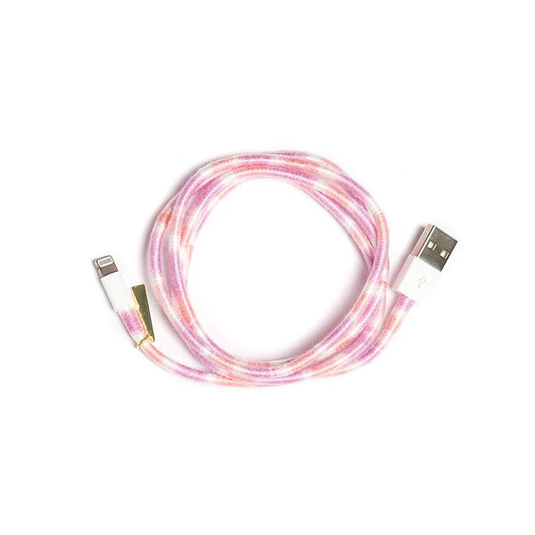 Pink Sky Charger Cable - Villa Yasmine