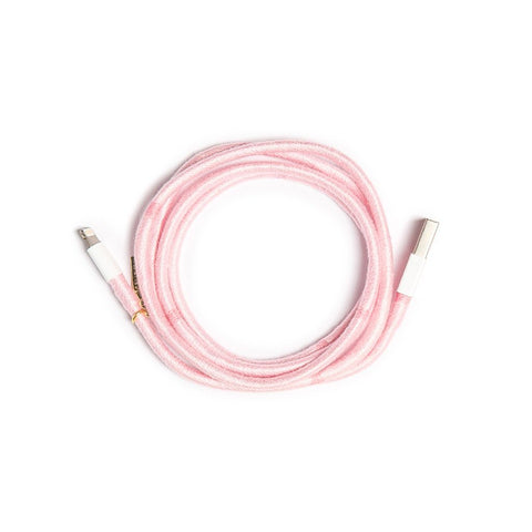 Baby Pink Charger Cable - Villa Yasmine