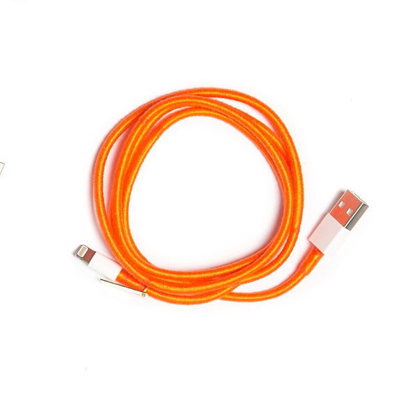 Orange Charger Cable - Villa Yasmine