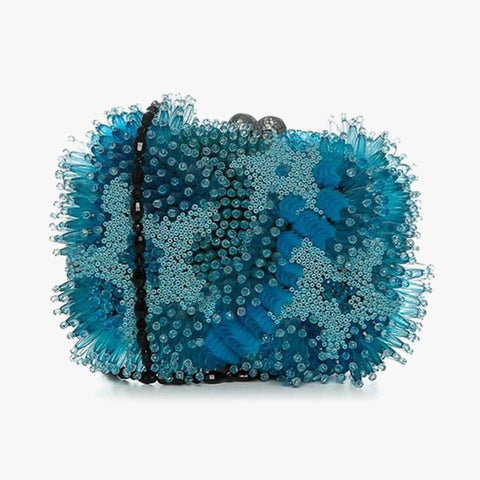 Coral Bag Light Blue - Villa Yasmine