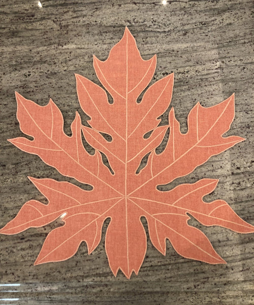Papaya Leaf Placemat - Villa Yasmine