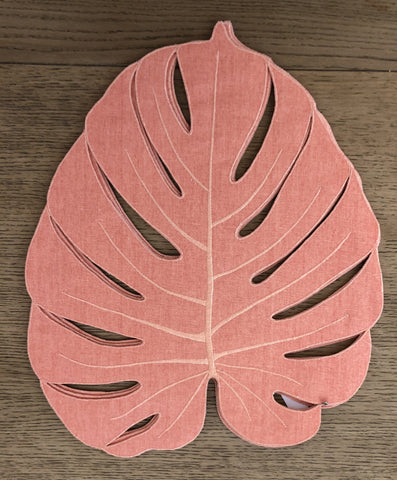 Monstera Leaf Placemat - Villa Yasmine