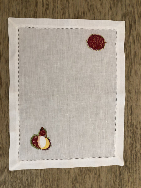Tropical Fruit Placemat - Villa Yasmine