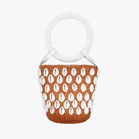 Kaia Mini Bucket Rust - Villa Yasmine