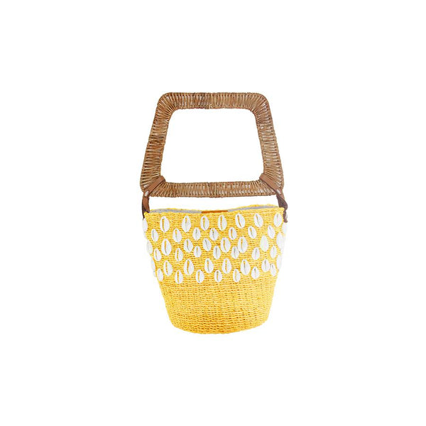 Kaia Bucket Yellow - Villa Yasmine