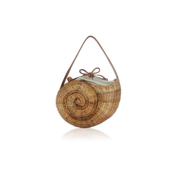 Nautilus Wicker Handbag