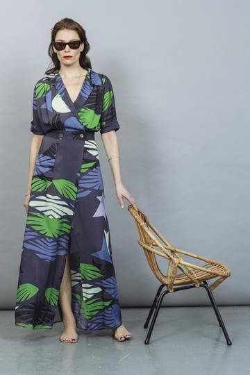 Sophie Wrap Dress - Villa Yasmine