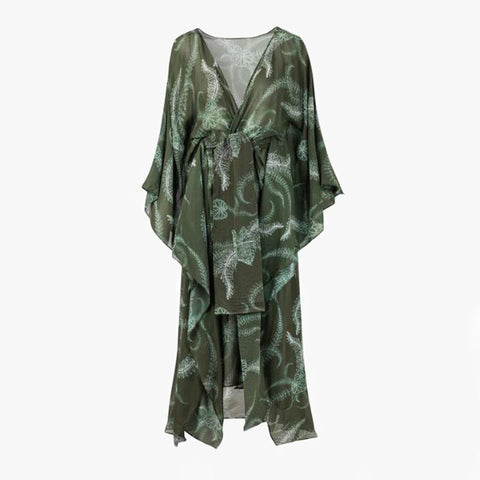 Costalegre Dress Green Helechos - Villa Yasmine