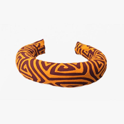 Mola Headbands- Mustard Brown - Villa Yasmine