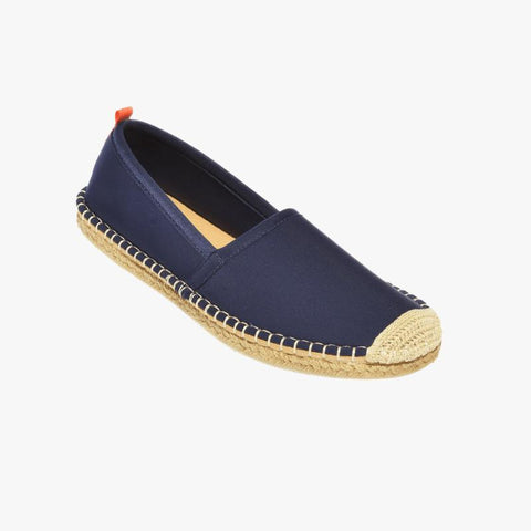 Beachcomber Espadrille: Womens Dark Denim - Villa Yasmine
