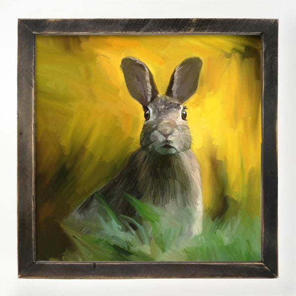 Bunny in the Meadow XL / Black