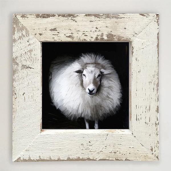 Poofy Sheep Small / White