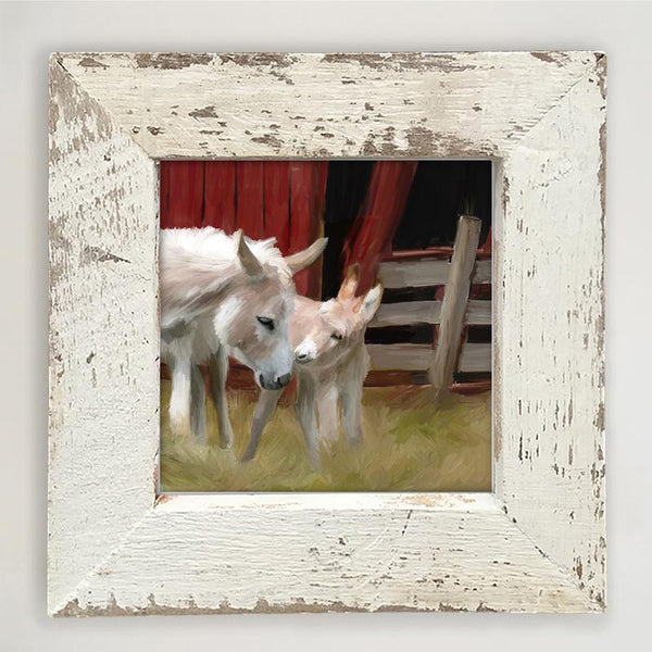 Donkey- Momma Small / White