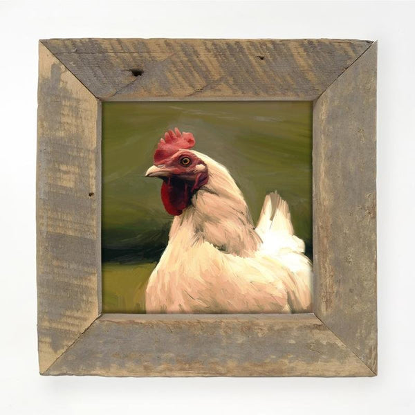 Leghorn Hen Small / Natural