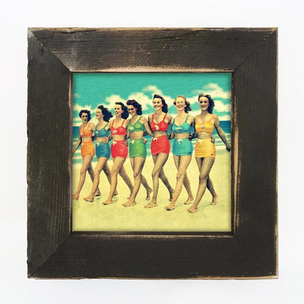 Vintage - Friends on the Beach Small / Black
