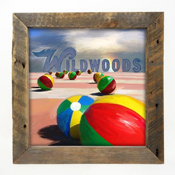 Wildwood Beach balls Large / Natural