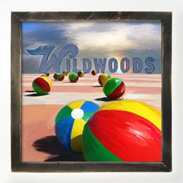 Wildwood Beach balls XL / Black