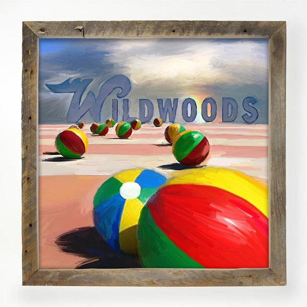 Wildwood Beach balls XL / Natural