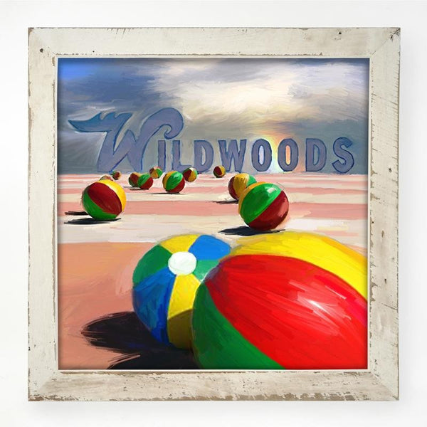 Wildwood Beach balls XL / White