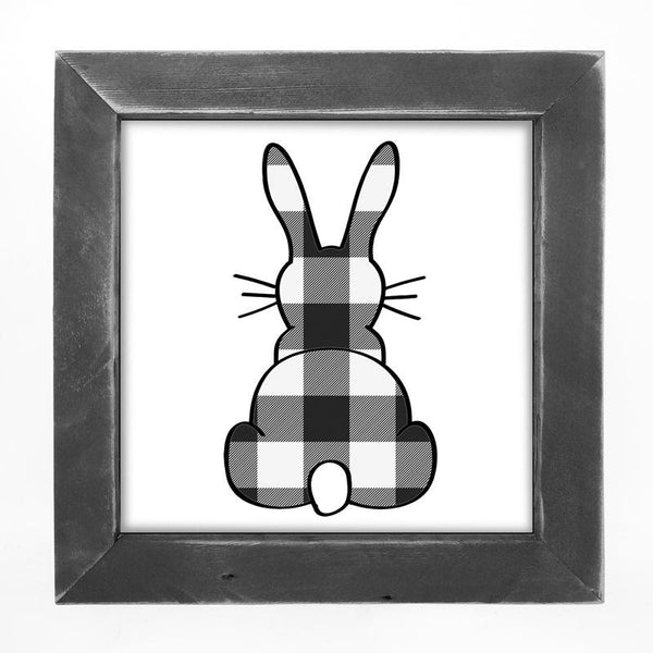 Buffalo Check Bunny
