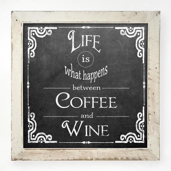 Chalk - Life coffee wine