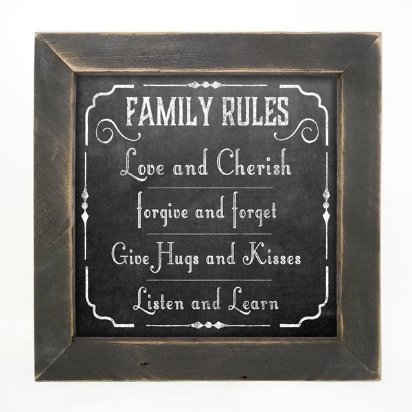 Chalk - Family Rules