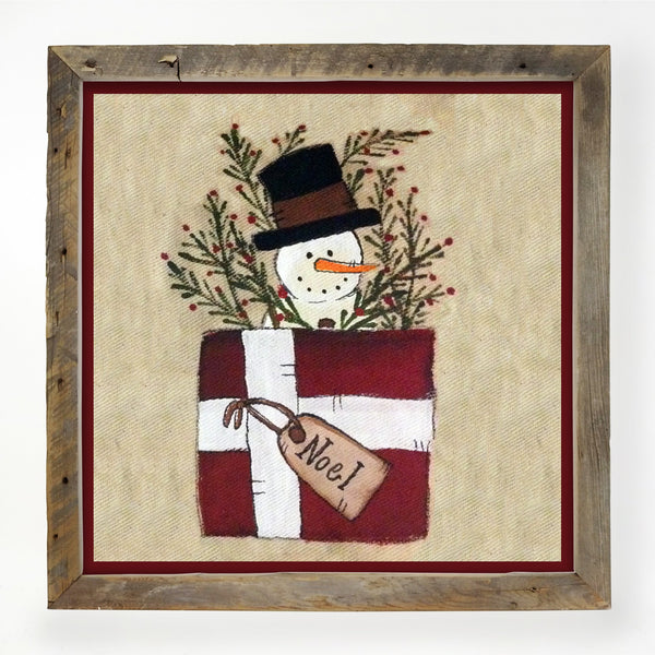 Snowman in package XL / Natural