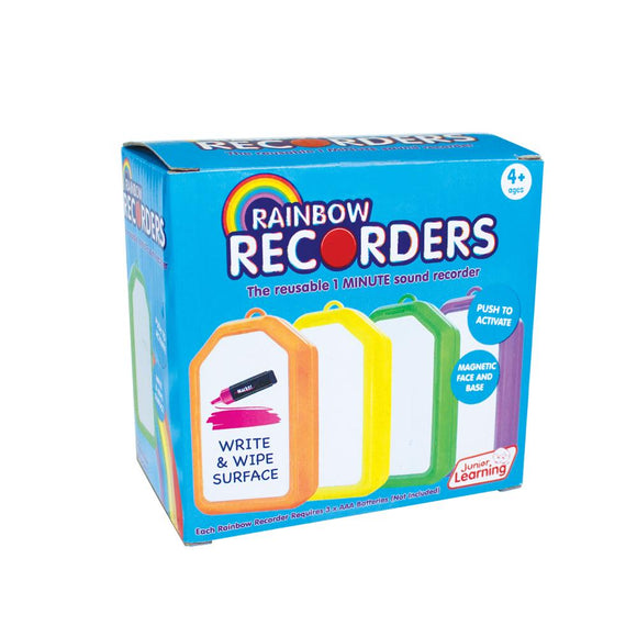 Rainbow Recorders (Set of 4)