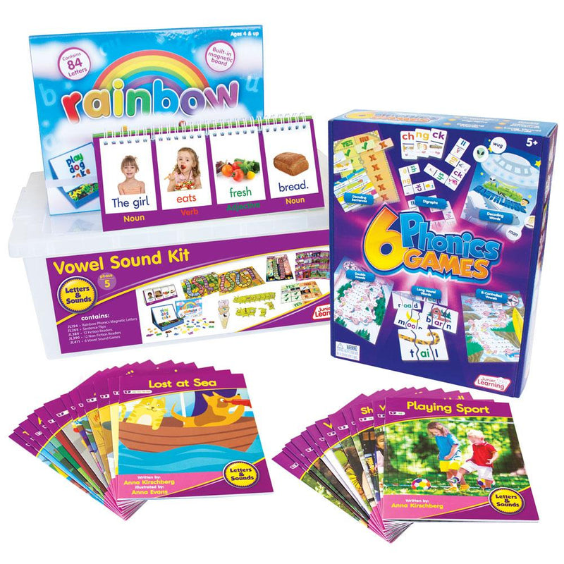 Letters and Sounds Phase 5 - Vowel Sound Kit
