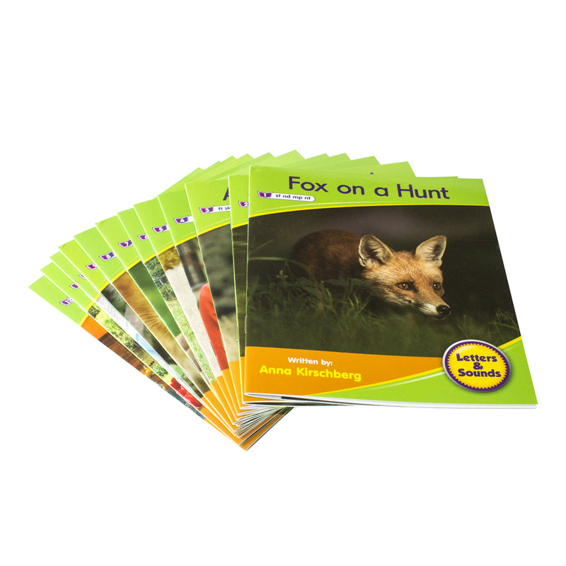 Letters and Sounds Phase 4 Set 1 Non-Fiction - 6 Pack