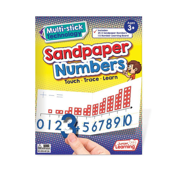 Multi-stick Sandpaper Numbers
