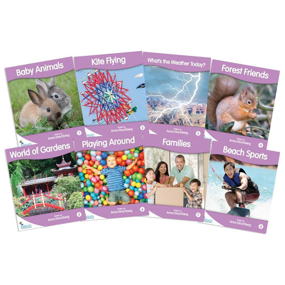 Fantail Readers Level 1 - Lilac Non-Fiction