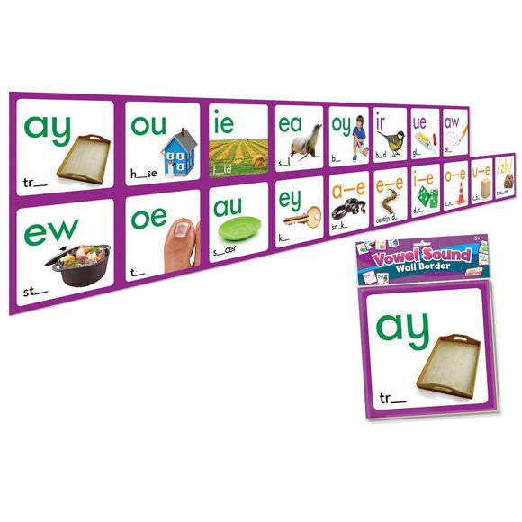 Vowel Sound Wall Border