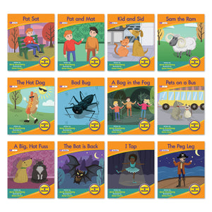 Decodable Readers Phase 2 (Set 2) - Letter Sound Fiction  (6-Pack)