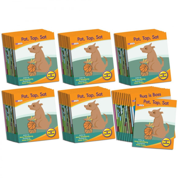 Decodable Readers Phase 2 - Letter Sound Fiction (6-Pack)