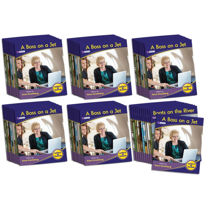Letters and Sounds Phase 3 Set 1 Non-Fiction - 6 Pack