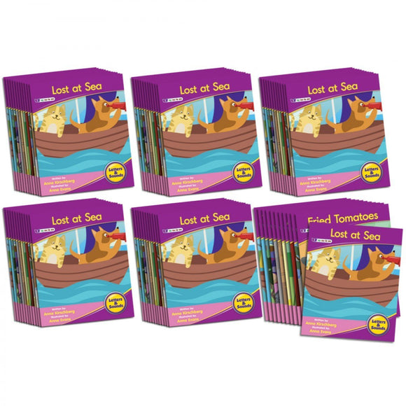 Decodable Readers Phase 5 - Vowel Sounds Fiction (6-Pack)