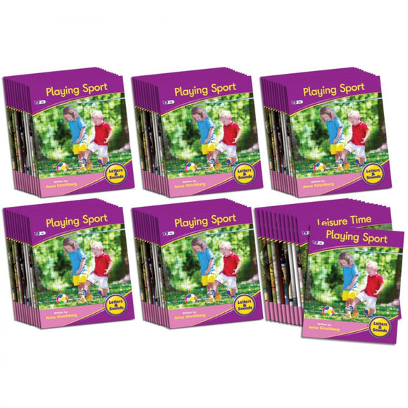 Decodable Readers Phase 5 - Vowel Sounds Non-Fiction (6-Pack)