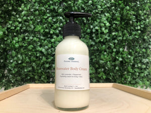 Rosewater Body Cream