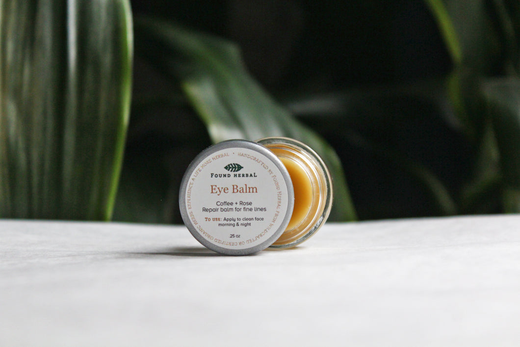 Coffee + Rose Eye Balm