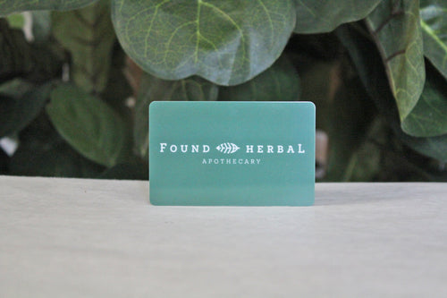 Found Herbal Gift Card