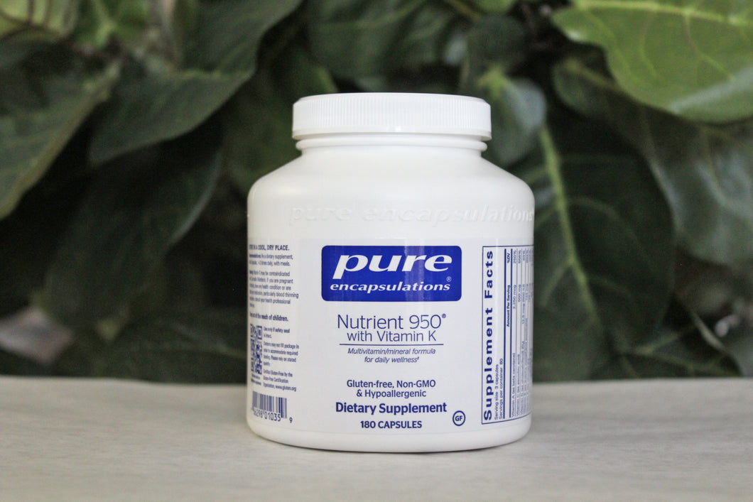 Pure Encapsulations Nutrient 950® with Vitamin K