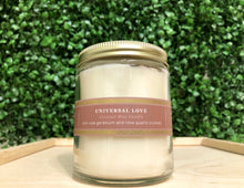 Load image into Gallery viewer, Universal Love Rose Quartz Candle