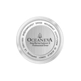Oceaneva™ Men's Deep Marine Explorer 1250M Pro Diver Watch Dark Gray Meteorite Dial