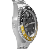 Oceaneva™ Men's GMT Deep Marine Explorer 1250M Pro Diver Watch Yellow and Black