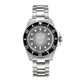 Oceaneva™ Men's Deep Marine Explorer II 1250M Pro Diver Watch Gray Fade Dial