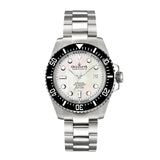 Oceaneva™ Men's Deep Marine Explorer II 1250M Pro Diver Watch White Mother Of Pearl
