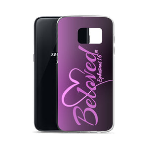 """Beloved - Ephesians 1:6"" Samsung Phone Case"