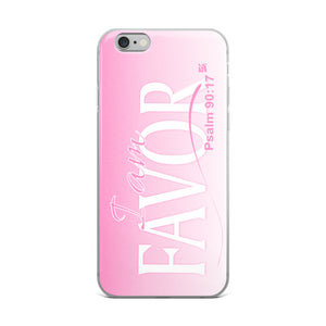 """I am FAVOR"" iPhone Case"