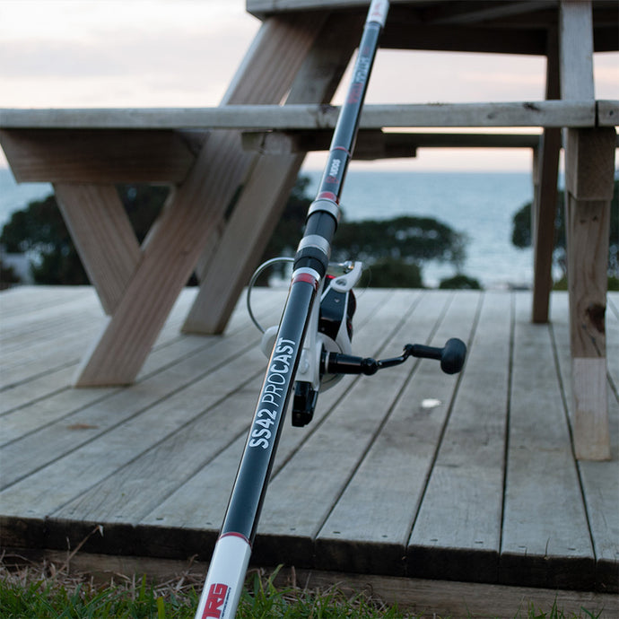 Akios rods review in the hands of NZ surf casters